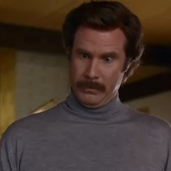 Ron Burgundy Amazing