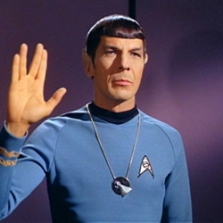 Blessing of spock be with you
