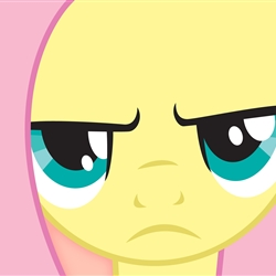 Fluttershy is not amused