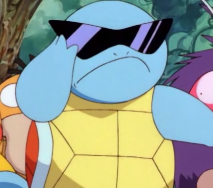 Oh Hell Naw Squirtle