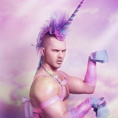 Unicorn man