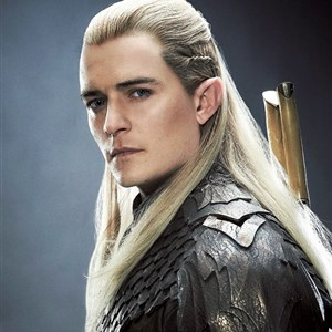 Legolas is serious
