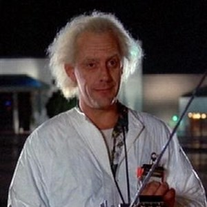 Doc Brown Face 2
