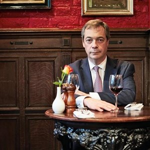 Unimpressed Nigel Farage