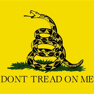 don't tread on me or else