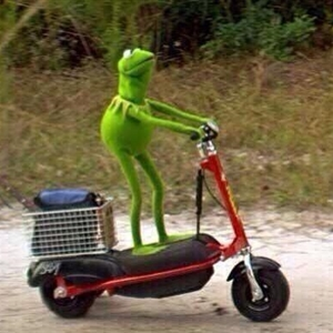 Kermit Scooter Meme Generator I am coming for that booty. kermit scooter meme generator