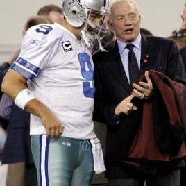 Tony Romo Jerry Jones