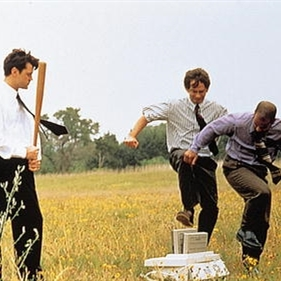 Office space printer crush