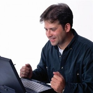 internet explorer? that's me! alright! - Lonely Computer Guy