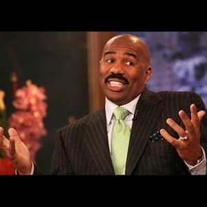 steve harvey shrug