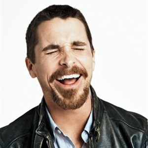 Christian Bale Laughing