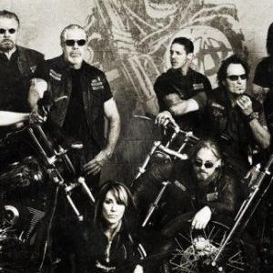 Sons of anarchy group shot