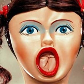 Surprised Blow Up Doll