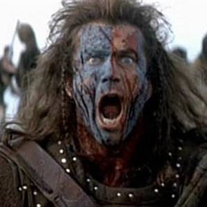 Braveheart crazy face