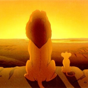 Lion King dad and son