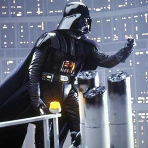 Darth Vader Shaking Fist