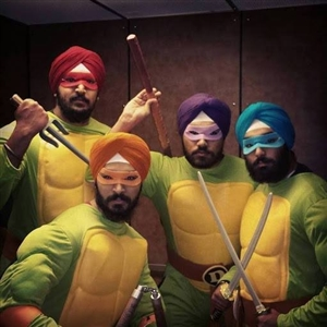 Teenage Mutant Ninja Turbans