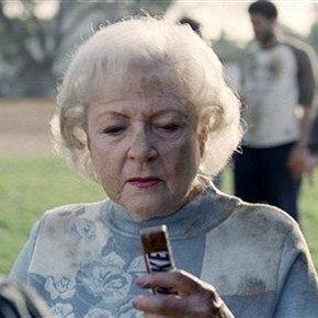 betty white snickers