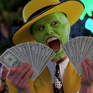 Jim Carrey The Mask with Money