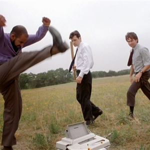Office Space Printer Smash
