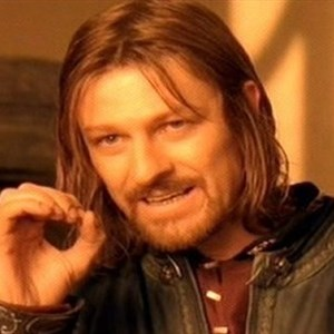 one does not simply put ones hand in a lawn mower
