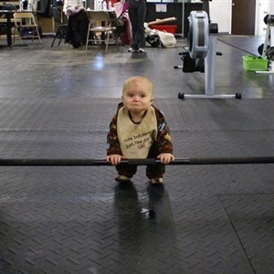 Weight Lifting Baby