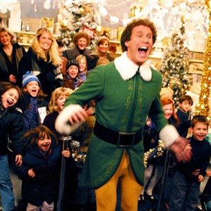 elf christmas excited