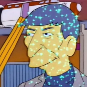 Simpsons Leonard Nimoy