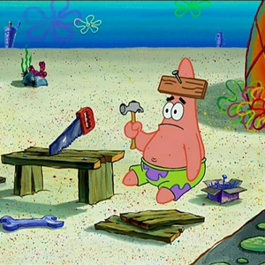 feeling like this after an engineering exam - Patrick Star