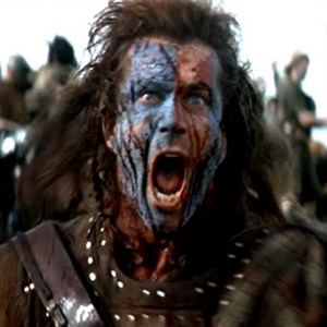 Braveheart Blue Face