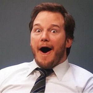 Andy Dwyer Excited
