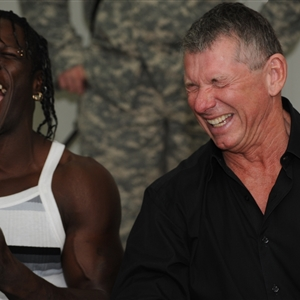 Vince McMahon loling
