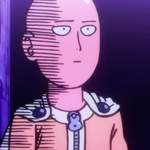 one punch man scared
