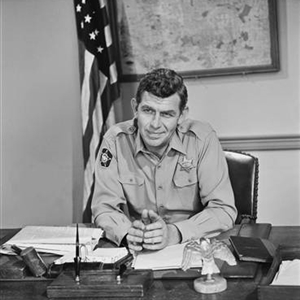 Sheriff Taylor at his desk