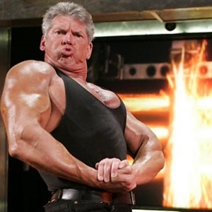 mcmahon angry flexing