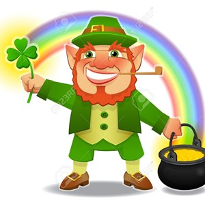 Hello I'm your Lucky Leprechaun