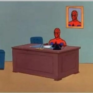 Spiderman Desk