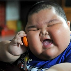 fat chinese kid