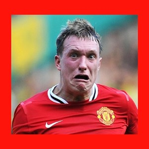 Phil Jones Scared Face