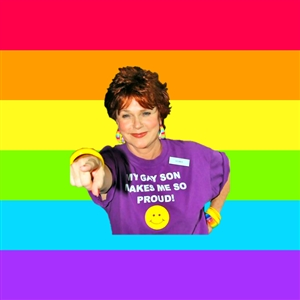 Over Enthusiastic Pflag Mother