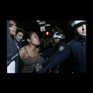 Black Woman and Cops