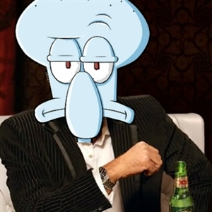 The most interesting Squidward in the world