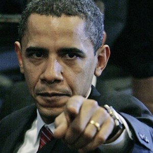 Pissed off Obama
