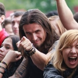 Ridiculously Photogenic Metalhead