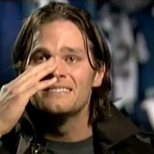 crying tom brady