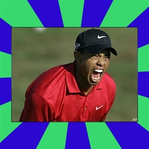 Tiger Woods Angry