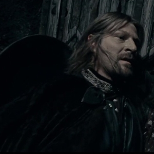 Boromir Sees They Have A Cave Troll