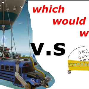 which would win? :)