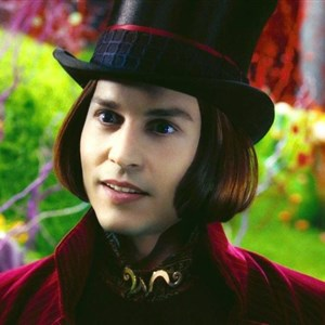 Johnny Depp Wonka