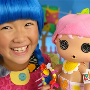 Chinese Girl In A Lalaloopsy Commercial